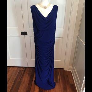 🆕🔷NWT Ralph Lauren Blue formal gown